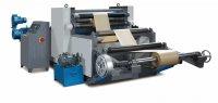 Машина для эмбоссирования рулонных материалов  YWJ