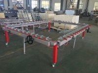 Механическая установка для натяжения трафаретных сеток XF-12150