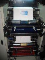 Двухкрасочная машина флексографической печати HRY320-2C