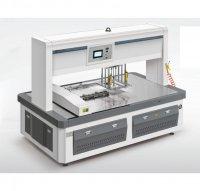 Автоматическая одноголовочная машина для удаления облоя и выемки заготовок STP-780