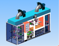 Машина для печати BOPP скотча HFT-300